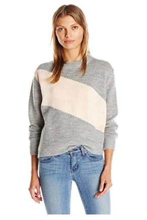 The Fifth Label Women's Winter Sky Racing Stripe Knit Sweater Top