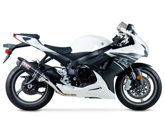 gsx r600 750 11 21 race trc d stainless full exhaust w carbon fiber muffler