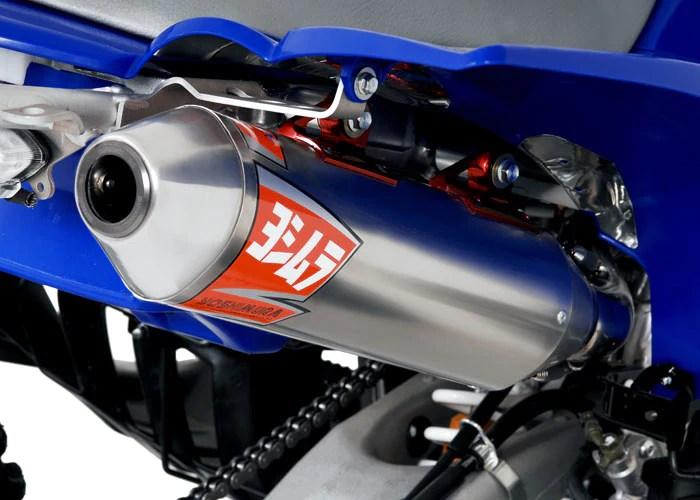 yfz450 04 09 rs 2 stainless full exhaust w aluminum muffler