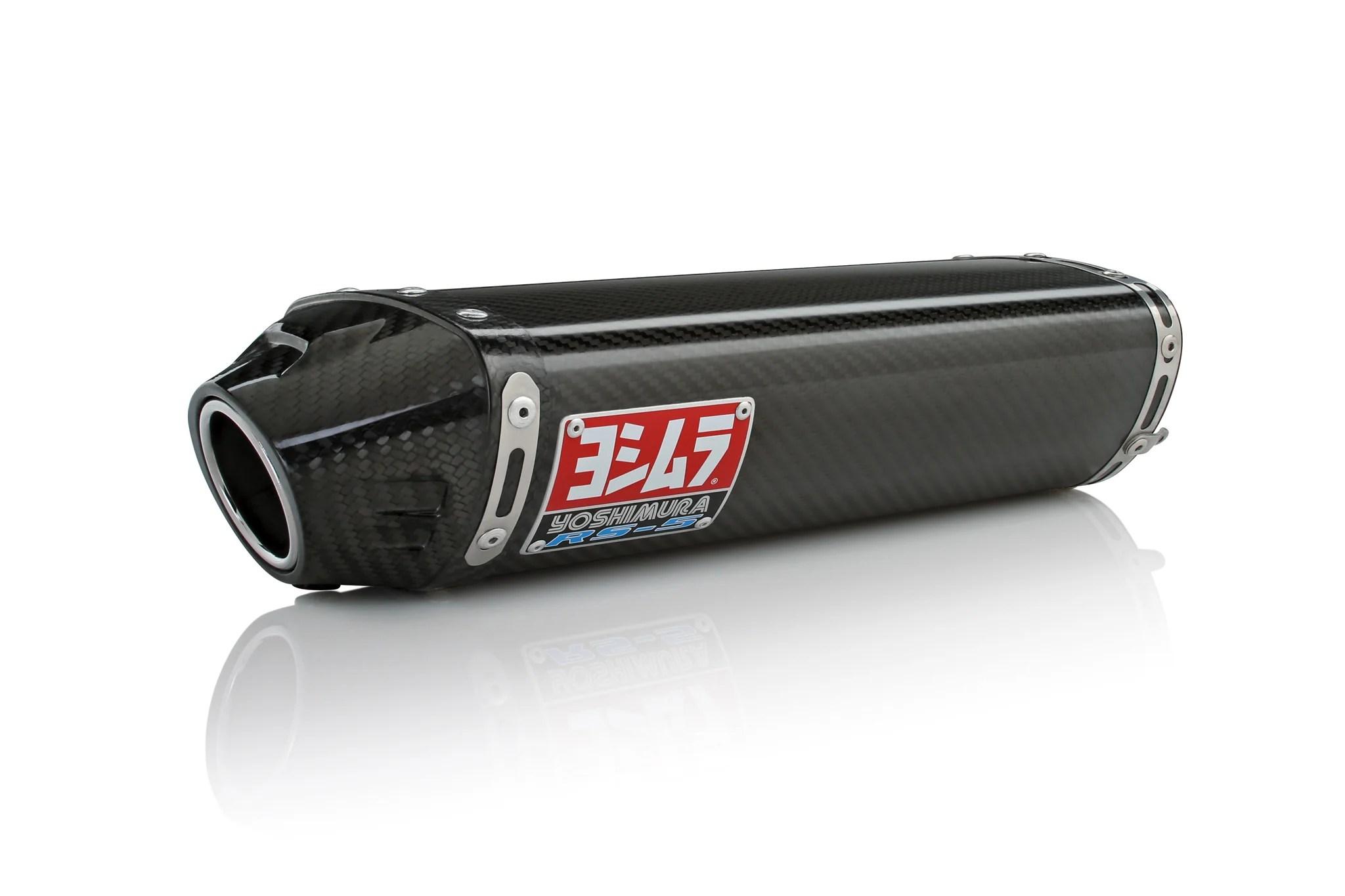 cbr600rr 05 06 rs 5 stainless slip on exhaust w carbon fiber muffler