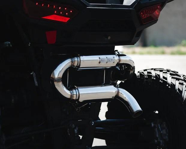 polaris rzr untamed exhaust force turbos