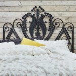 Peacock Black Rattan Double Bed Headboard Double The Rattan Company
