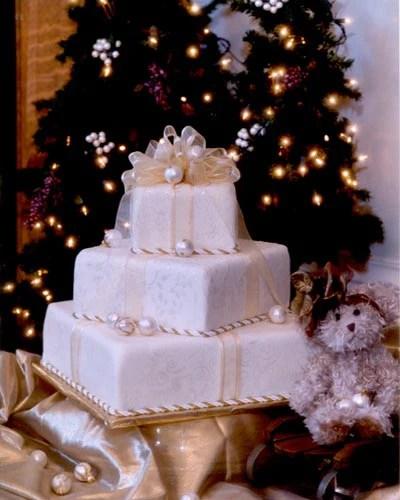 Holiday Wedding Cakes Rustic Wedding Chic