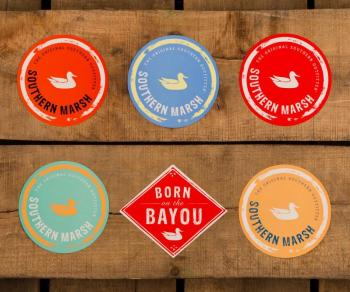 Southern Marsh Stickers