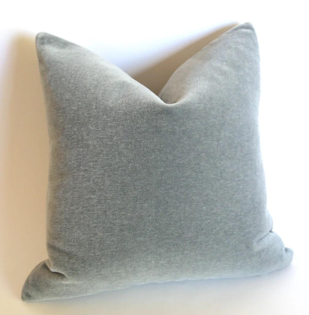 angora fur mohair velvet pillow covers