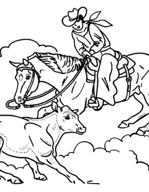 horse coloring pages # 26