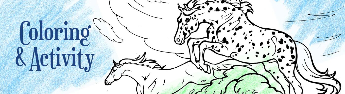 Coloring Pages Breyerhorses Com