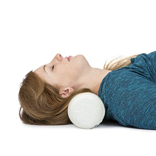 neck roll pillow cervical bolster memory foam spine lumbar traction spondylosis support