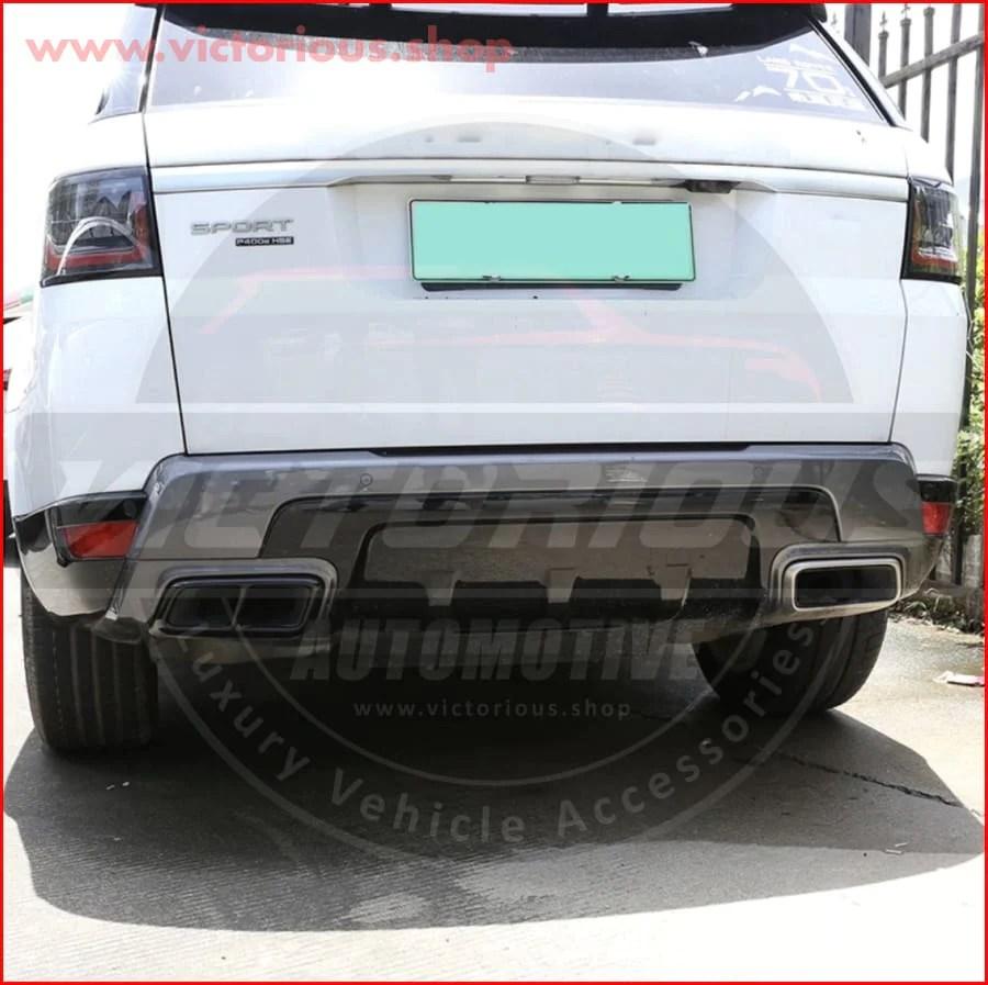 range rover sport exhaust muffler s vr