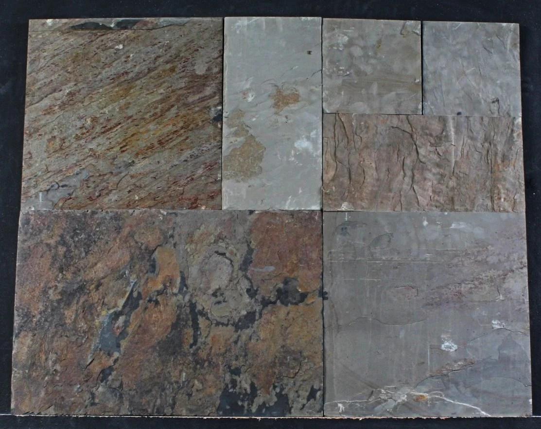 autumn slate tile villa pattern stone design inc