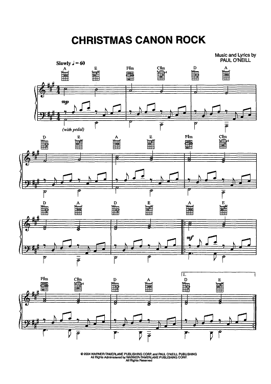 Siberian Orchestra Piano Christmas Trans