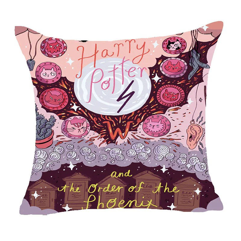cartoon polyester cushion cover sofa