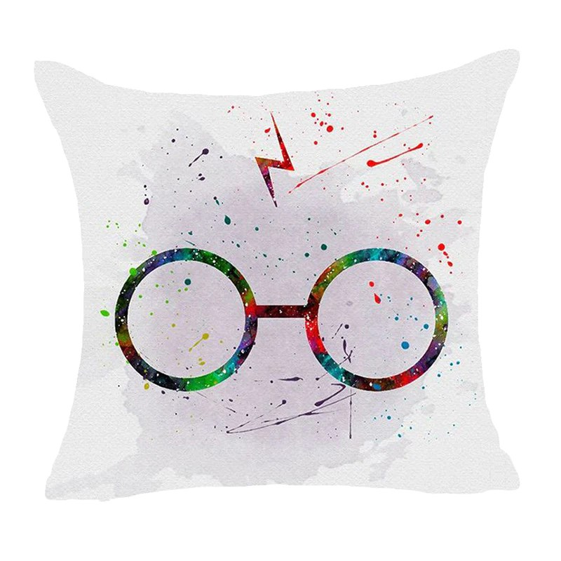 cartoon harry potter polyester cushion