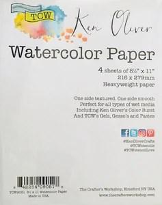 TCW9051 Watercolor Paper Pack
