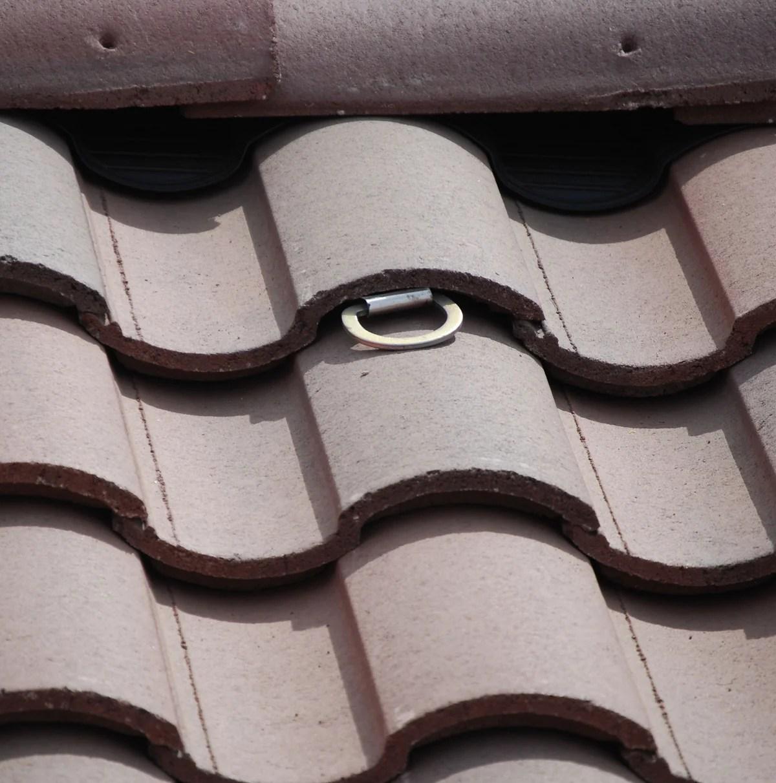 super anchor tile roof retrofit anchor kit 2815t