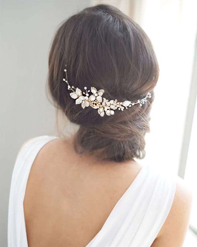 3 ways to perfectly style ribbon headbands on your wedding