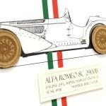 Alfa Romeo 8c Blueprint Art Alfa Romeo Print Gifts Art Simplycutart