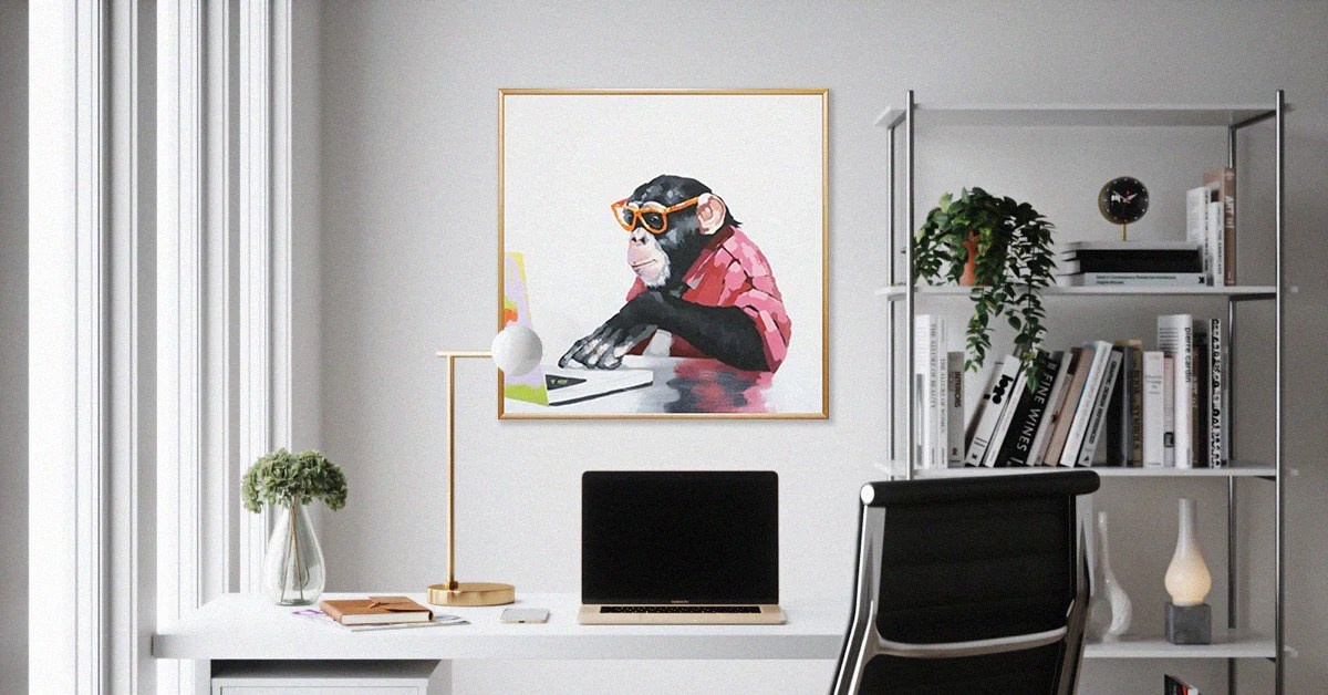Home Office Wall Art Ideas Artistic Distraction While Working From Ho Le D Arte