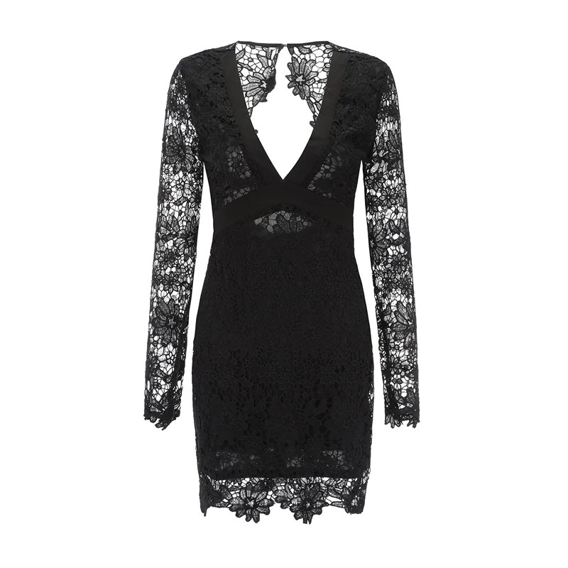Juno Long Sleeve Lace Dress