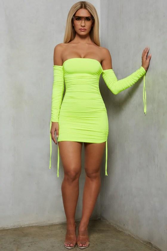 Cosma Neon Dress