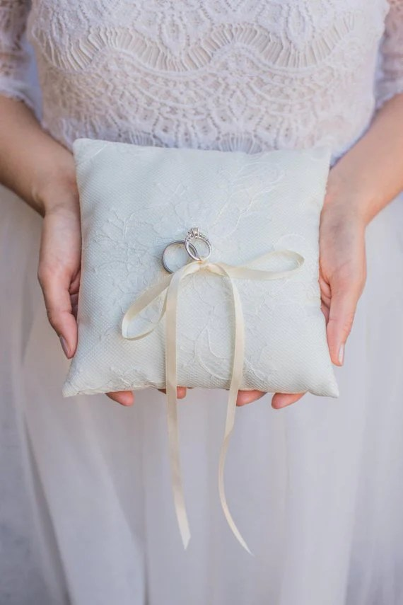 unique ring bearer pillows and ring box