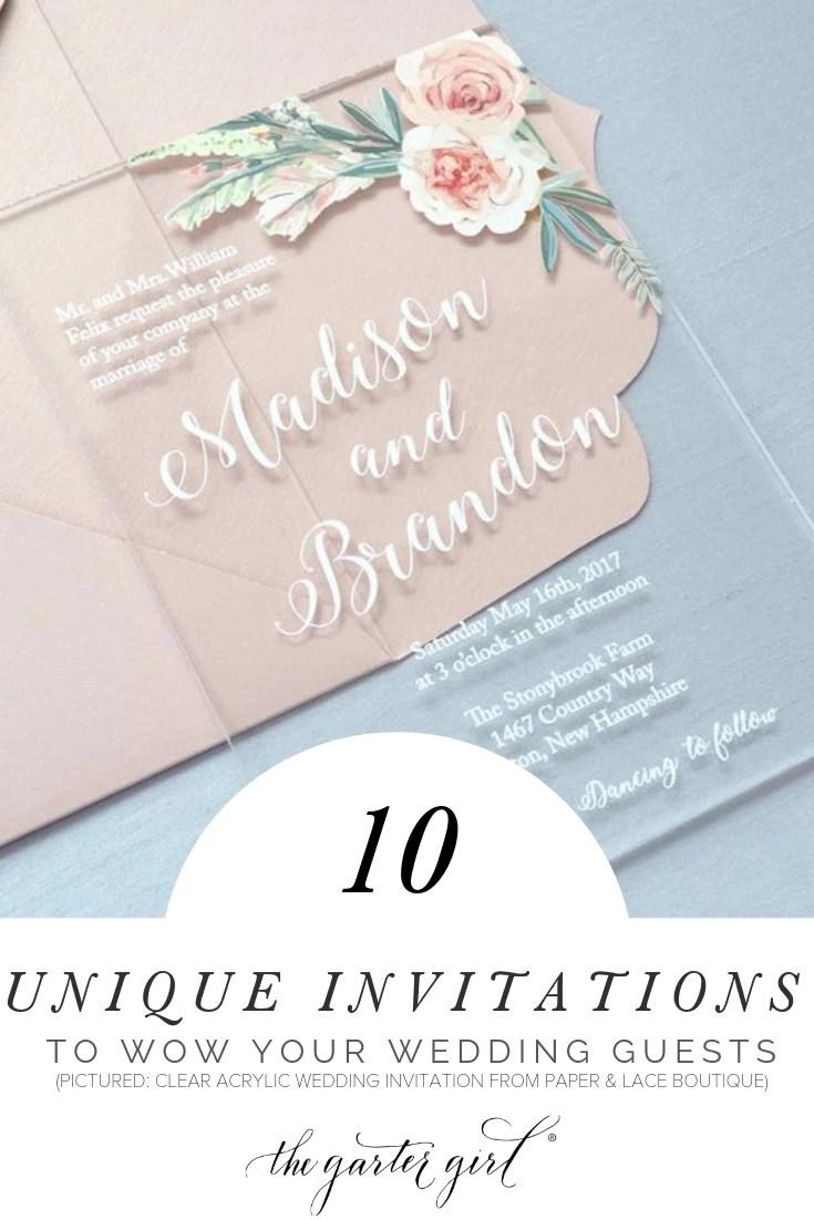 Unique Wedding Invites Newpapers co