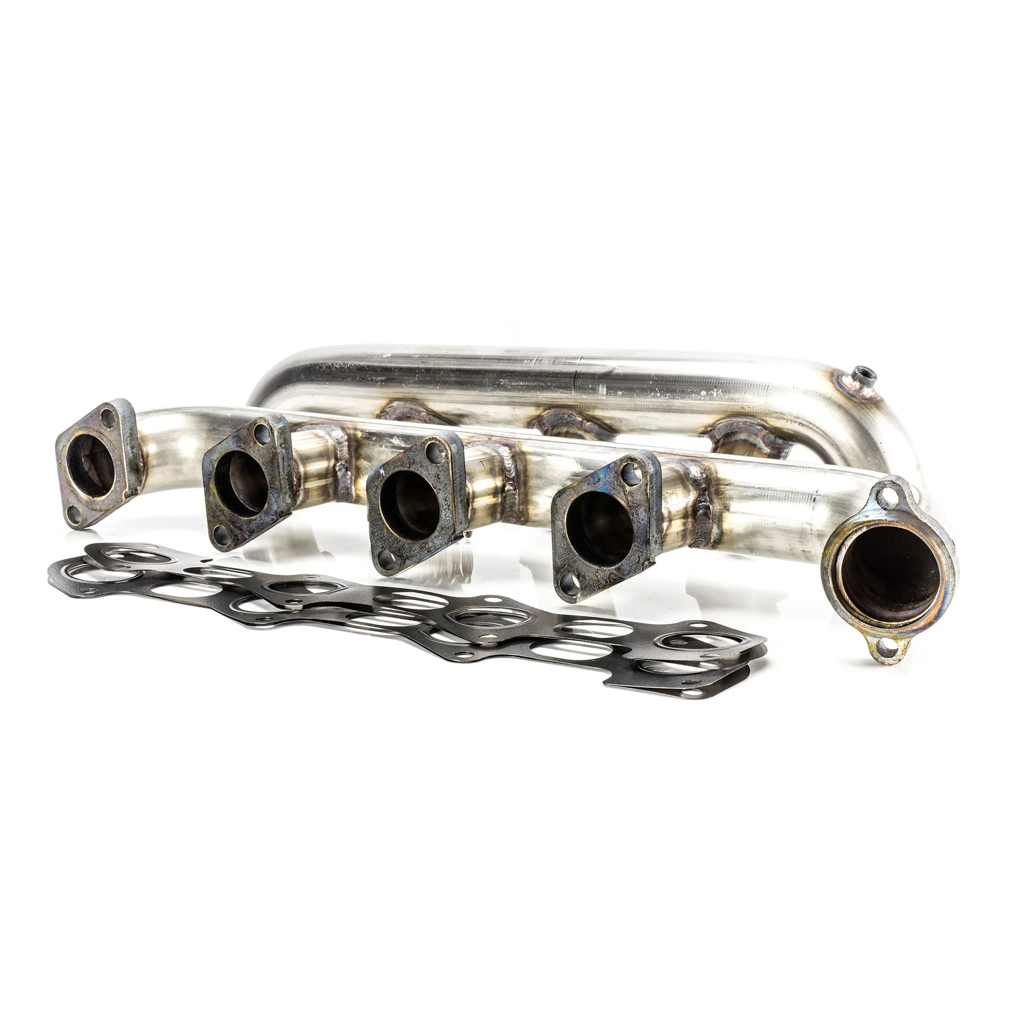 6 0l ford power stroke 304 stainless steel tubular exhaust manifold set