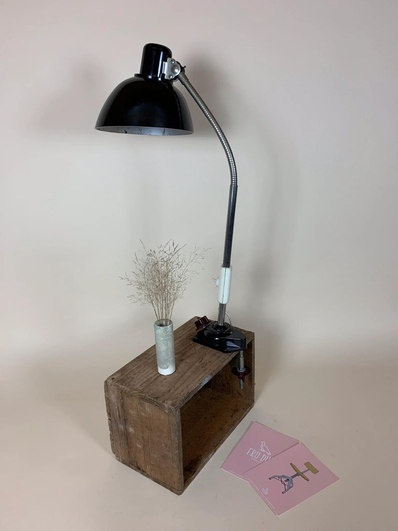 Tysk Bauhaus Lampe Fru Due