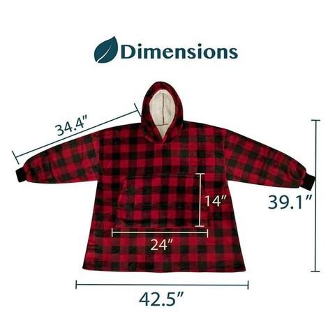 comfy sweatshirt blanket