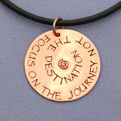Focus on the Journey Necklace