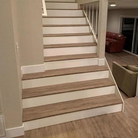 Gemcore Moldings Rewardflooring   Hardwood Floor Stair Treads   Dark Oak   Hickory   Vinyl   Red Oak   Pergo Floor