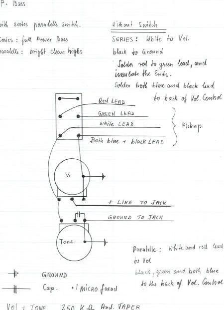 pbass wiring diagram – bill and becky wilde pickups