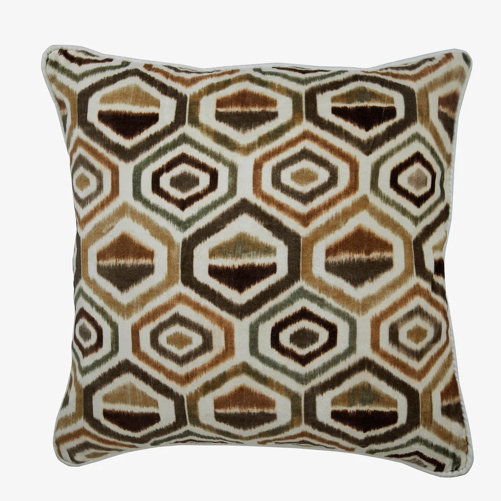 https www thehomecentric com products honey hexagon throw pillow cover