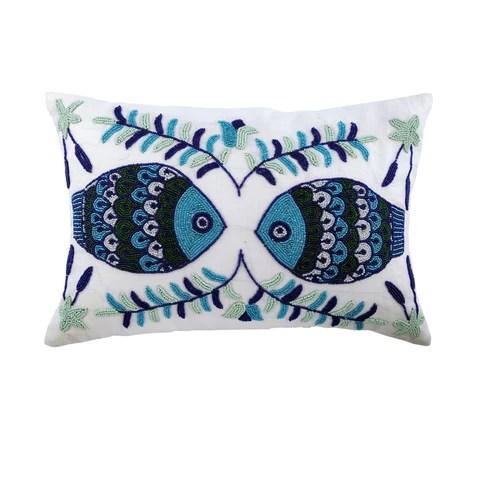12x16 inch decorative lumbar pillow