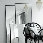 Tine K Home Spejl Med Jernramme 80 X 180 Cm Phantom