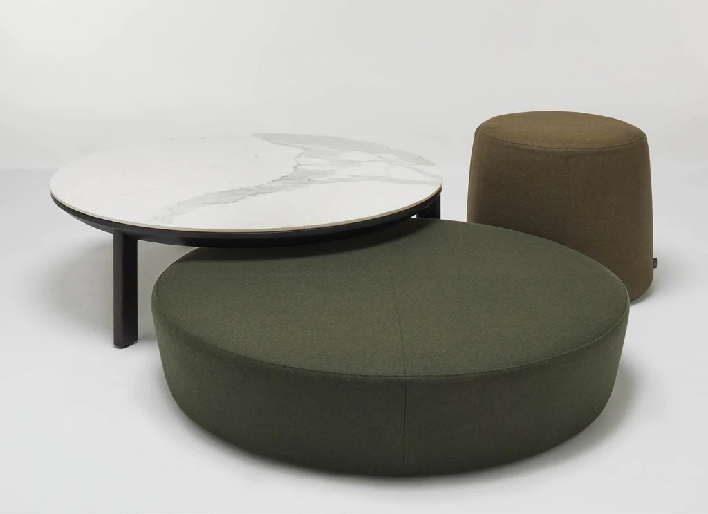 otway round coffee side tables