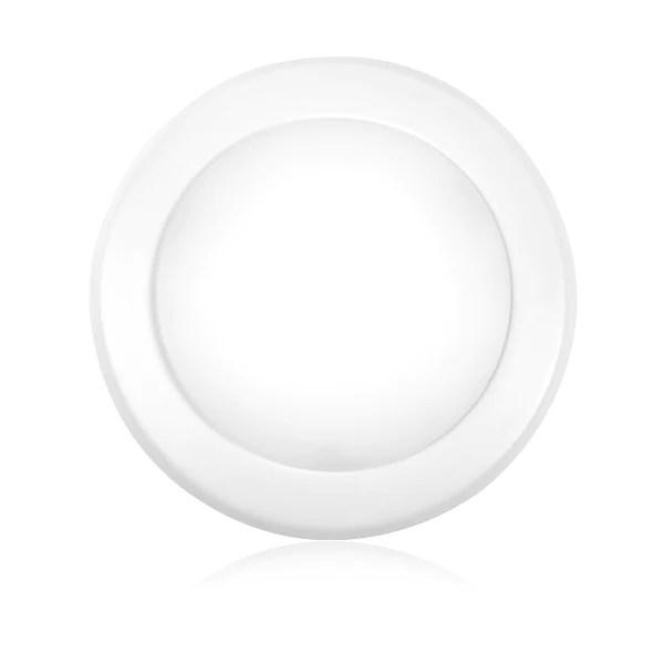 5 6 led disk light flush mount ceiling recessed light 15w