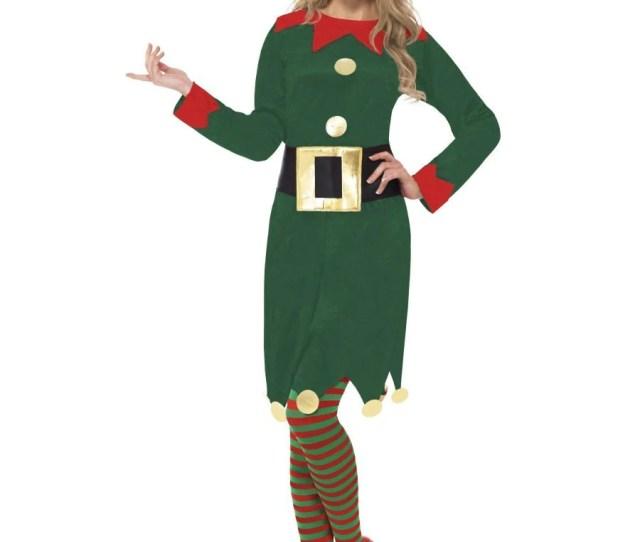 Elf Costume With Dress Belt