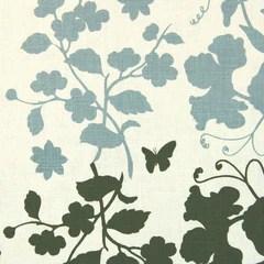 Kristen Doran - Hummingbird - Sky blue/olive