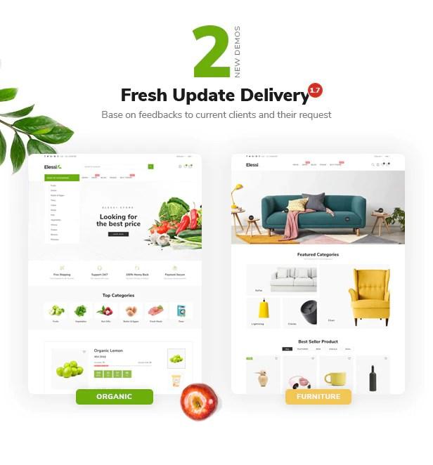 Elessi - Responsive Shopify Theme - 1