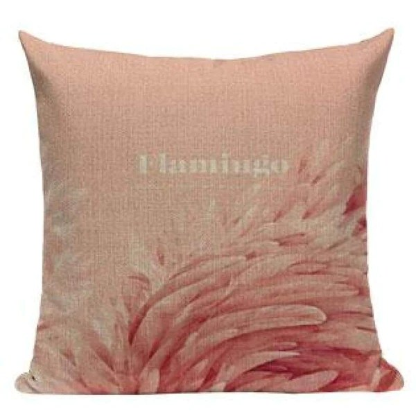 funny flamingo throw pillow covers l536 1