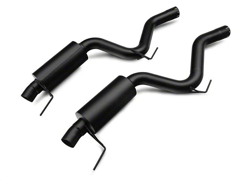 mbrp black series cat back exhaust w y pipe race version 2015 2021 mustang ecoboost