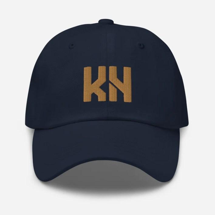 Kyle Hamilton Signature Hat (Navy) (Camo)
