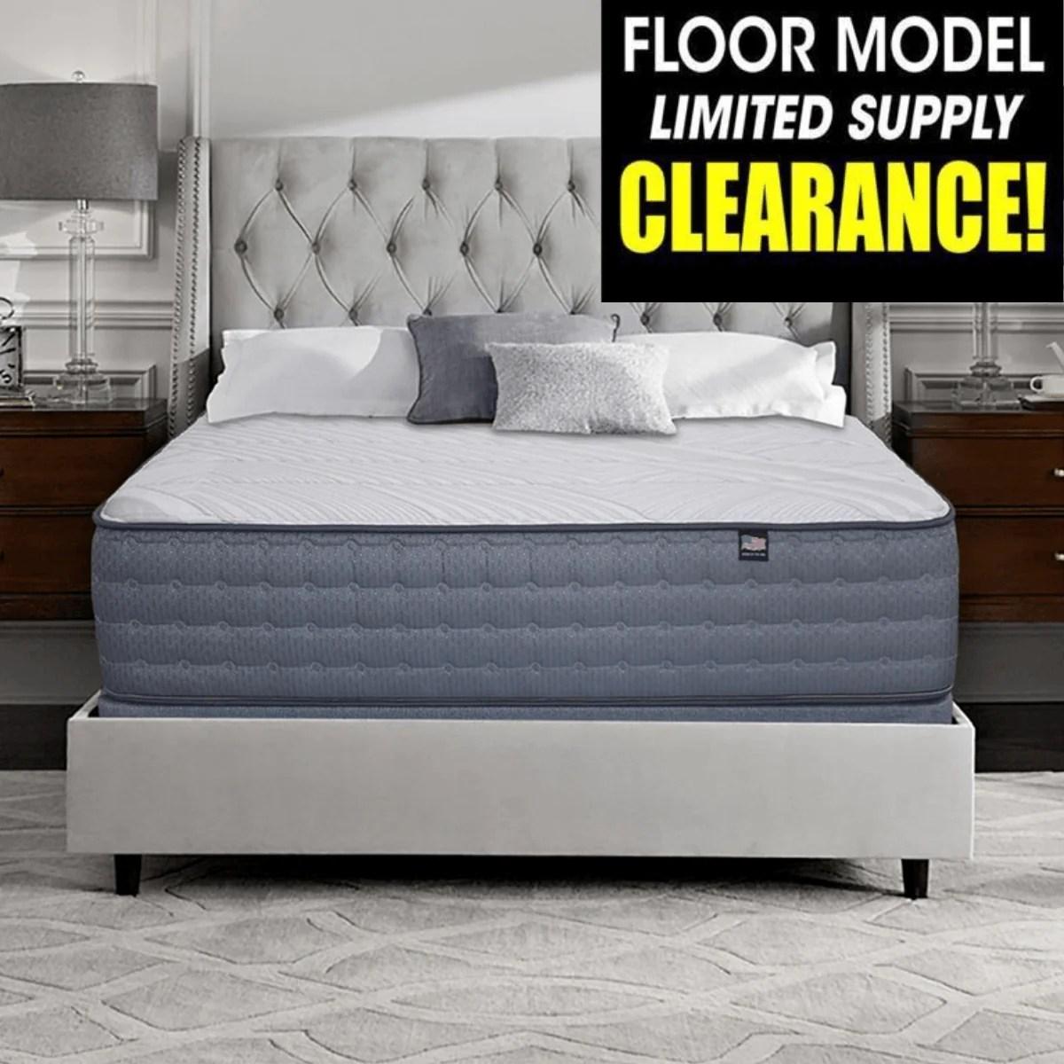 therapedic sedona plush floor sample clearance