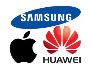 Samsung Apple Huawei