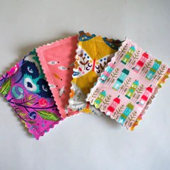DIY sewing tutorial:  Reusable face wipes