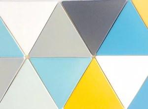 basis triangle 6 ceramic tile 40 colors
