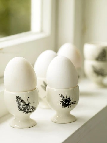 Pale and Interesting Egg Cups