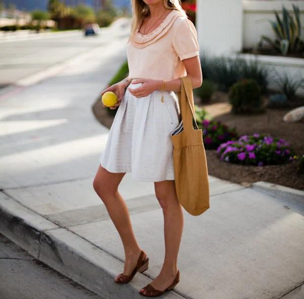 Sunwashed Pocket Skirt