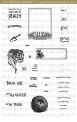 Vintage Garden - Seed Packet